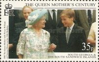 [The 99th Anniversary of the Birth of Queen Elizabeth the Queen Mother, 1900-2002, Typ EN]