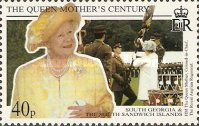 [The 99th Anniversary of the Birth of Queen Elizabeth the Queen Mother, 1900-2002, Typ EO]