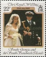 [Royal Wedding of Prince Andrew and Sarah Ferguson, type G]