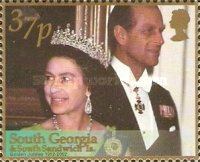 [The 50th Anniversary of the Accession of Queen Elizabeth II, type GH]