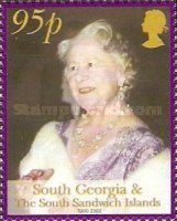 [The Death of Queen Elizabeth the Queen Mother, 1900-2002, Typ GZ]