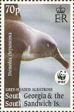[Worldwide Nature Protection - Gray-headed Albatross, type HJ]