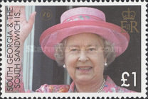 [The 80th Anniversary of the Birth of Queen Elizabeth II, type IR]