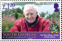 [The 1st Anniversary of the Death of Rex Hunt, 1926-2012, Typ OX]