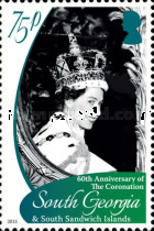 [The 60th Anniversary of the Coronation of Queen Elizabeth II, Typ OZ]