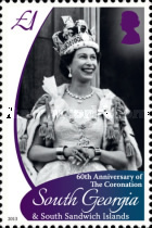 [The 60th Anniversary of the Coronation of Queen Elizabeth II, Typ PA]