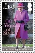 [The 90th Anniversary of the Birth of Queen Elizabeth II, Typ RV]