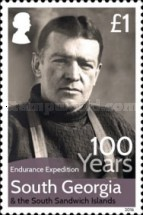[The 100th Anniversary of The Imperial Trans-Antarctic Expedition, Typ SD]