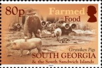 [Food in South Georgia And The South Sandwich Islands, Typ UL]