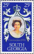 [The 25th Anniversary of Coronation of HRM The Queen Elizabeth II, type AM]