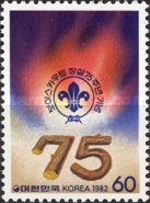 [The 75th Anniversary of Boy Scout Movement, type ANL]