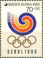 [Olympic Games - Seoul 1988, South Korea, type ASJ]