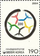 [The 100th Anniversary of FIFA, Federation Internationale de Football, type CCY]
