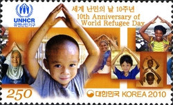 [The 10th Anniversary of World Refugee Day, type CRH]