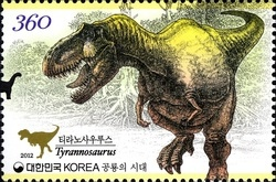 [Prehistoric Animals - Dinosaurs, type CVV]