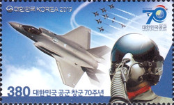 [The 70th Anniversary of the South Korean Air Force, type DPY]