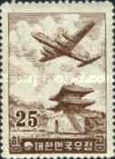 [Airmail - Douglas DC-6 over East Gate, Seoul, type DQ]
