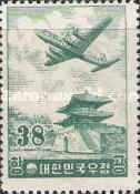 [Airmail - Douglas DC-6 over East Gate, Seoul, type DQ2]