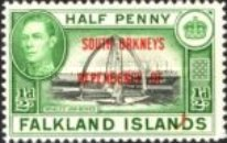 [Falklands Islands Postage Stamps Overprinted