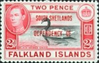 [Falklnads Islands Postage Stamps Overprinted