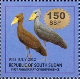 """[Stamp of 2012 Surcharged - """"SSP"""" Not in Serif, type C5]"""