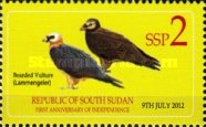 [Fauna & Coat of Arms of South Sudan, type D]