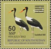 [Stamp of 2012 Surcharged, type E1]