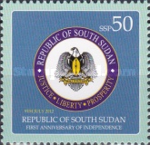 [Fauna & Coat of Arms of South Sudan, type H]