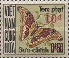 [Moths & Butterflies - Postage Due Stamps of 1968 Surcharged, Typ D3]