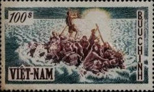 [The 1st Anniversary of Arrival of Refugees from North Vietnam, type C5]
