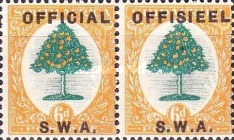 [South Africa Stamps of 1926 Overprinted in English