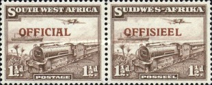 [Local Motifs - South West Africa Postage Stamps of 1931 Overprinted