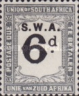[South Africa Postage Due Stamps of 1922-1926 Overprinted