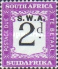 [South Africa Postage Due Stamps of 1927-1928 Overprinted