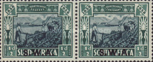 [South Africa Stamps Overprinted
