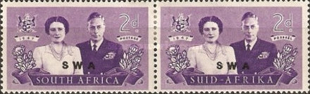 [South Africa Postage Stamps Overprinted, type BD3]
