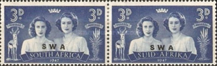 [South Africa Postage Stamps Overprinted, type BD5]