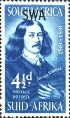 [Founding the First Settlement on the Cape of Good Hope by Jan van Riebeeck, type BG3]