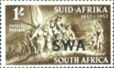 [Founding the First Settlement on the Cape of Good Hope by Jan van Riebeeck, type BG4]