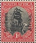 [South Africa Postage Stamps Overprinted -