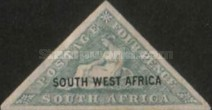 [South Africa Postage Stamp Overprinted, type I]