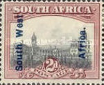 [South Africa Postage Stamps Overprinted, type J]