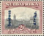 [South Africa Postage Stamps Overprinted, type J1]