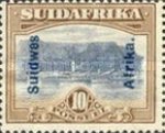 [South Africa Postage Stamps Overprinted, type J10]