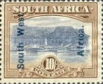 [South Africa Postage Stamps Overprinted, type J11]