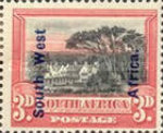 [South Africa Postage Stamps Overprinted, type J3]