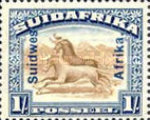 [South Africa Postage Stamps Overprinted, type J4]