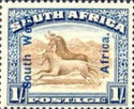 [South Africa Postage Stamps Overprinted, type J5]