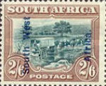 [South Africa Postage Stamps Overprinted, type J6]