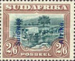 [South Africa Postage Stamps Overprinted, type J7]